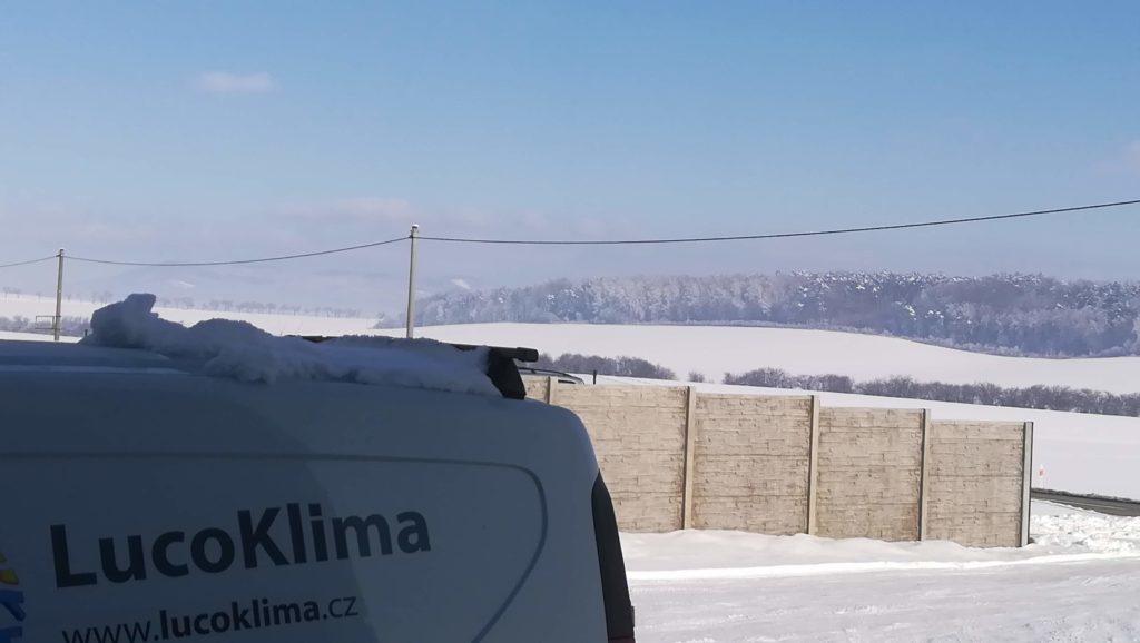 zimní panorama LUCO